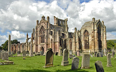 Scottish Borders Melrose Abbey