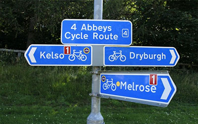 Scottish Borders cycling